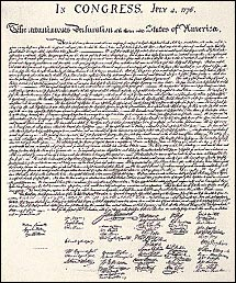 Crush image pertaining to printable declaration of independence pdf