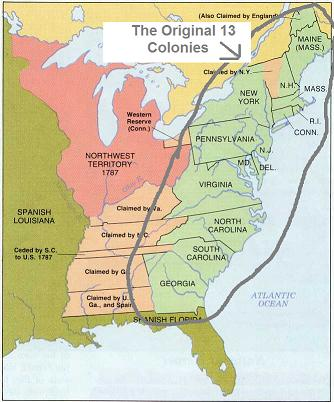 the concordant proclamation of the thirteen colonies of the united states of america